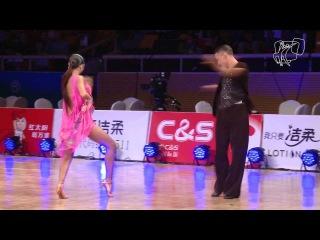 Imametdinov - Nikolaeva, RUS | GrandSlam Latin Beijing R4 CHA