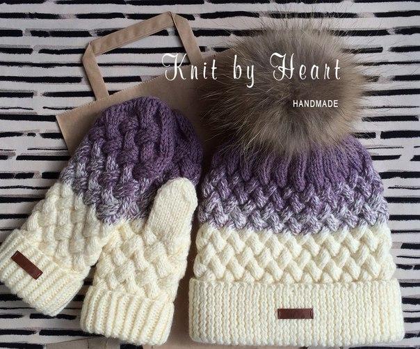 Knit By Heart это дизайнерские вязаные вещи ручной работы