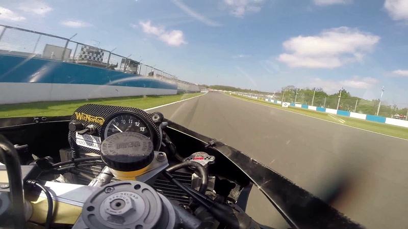 WizNorton Racing Josh Brookes Rides Norton Rotary at Donington Endurance Legends 2017