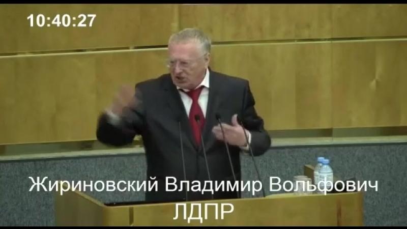 Жириновский о ЕР и конкретно о Зимине (1)