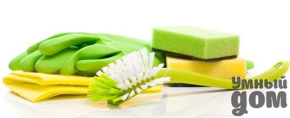 Освежение губки или кухонного полотенца. Губки для мытья посуды и кухонные полотенца являются на кухне не только рассадниками бактерий, но и зачастую начинают издавать неприятные запахи. Чтобы освежить ваши губки и полотенца, замочите их на ночь в содовом растворе. Для того, чтобы приготовить раствор, возьмите 2 столовые ложки соды на 1 литр воды, также не забудьте добавить в раствор 2 капли антибактериальной жидкости для посуды. Умный дом - идеальный уголок для хозяюшки!