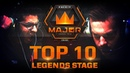 TOP 10 Plays of Legends Stage feat. NiKo, JW, ISSAA! (FACEIT Major: London 2018)