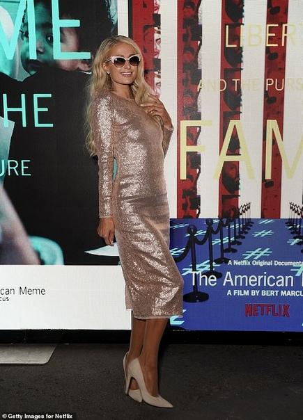 Наоми Харрис на премьере фильма Маугли в Лондоне Пэрис Хилтон и Дита Фон ТизМел Би