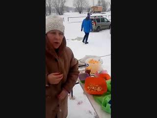 Картошка фри на костре в Volga Discovery