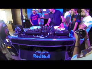 Dj Qbert, Dj Shock, Dj L Brus & Dj Twist Scraching @ Redbull Thre3tyle workshop