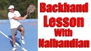 How To Get Power on Tennis Two Handed Backhand Free Tennis Lesson With David Nalbandian