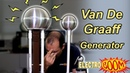 Building a Van De Graaff HIGH VOLTAGE Generator