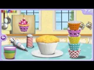 Смотреть София Прекрасная печем кексики, игра как мультик для детей