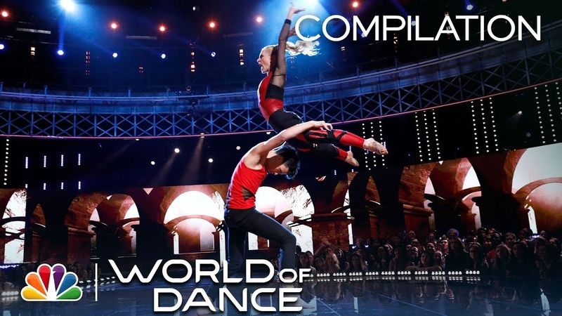 Charity Andres: All Performances - World of Dance 2018 (Compilation)