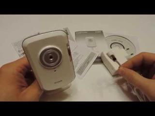 Обзор беспроводной wi-fi web-камеры D-link DCS-930L. Видео няня.