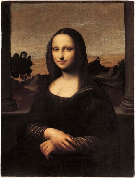 Леонардо да Винчи. Айзелуортская Мона Лиза.