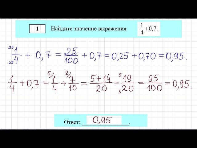 Огэ для 8 класса по математике 2017 с ответами