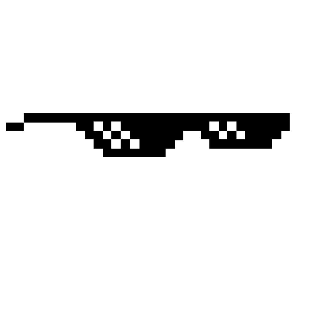 картинки очков пиксельных