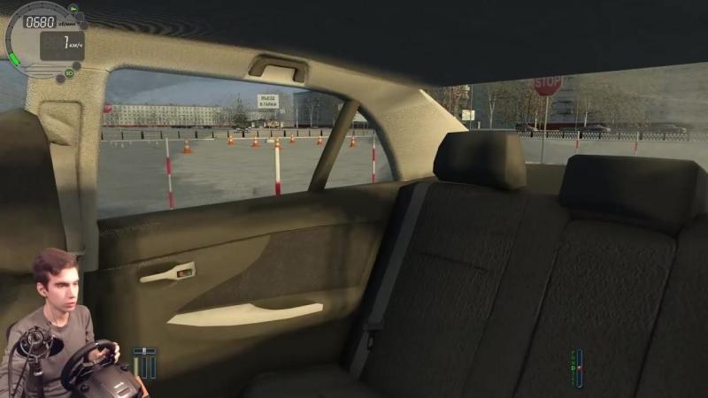 [Alcatraz1011] ПЕРЕСДАЧА - City Car Driving на руле Logitech G29