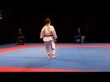 Karate1 PL, Almere 2014 - DIMITROVA vs. SANCHEZ - Kata fem. FINAL