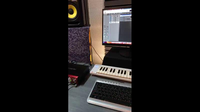 Запись Саксофона для нового сингла
