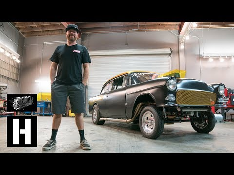 Roadkill's Mike Finnegan Brings Blasphemi to the Donut Garage Flexes 900whp With a Massive Burnout