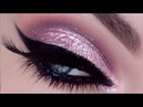 How to create soft pink Glam Eye makeup Look tutorial compilation video collection