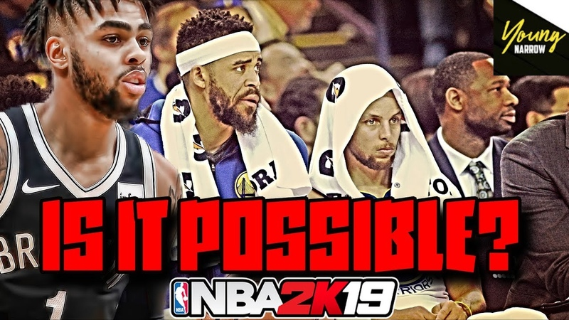 Does NBA 2K19 Think The Nets Can BEAT The Warriors in A 7 Game Series?