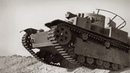 T-28 soviet tank in Action (Documentary Newsreel)