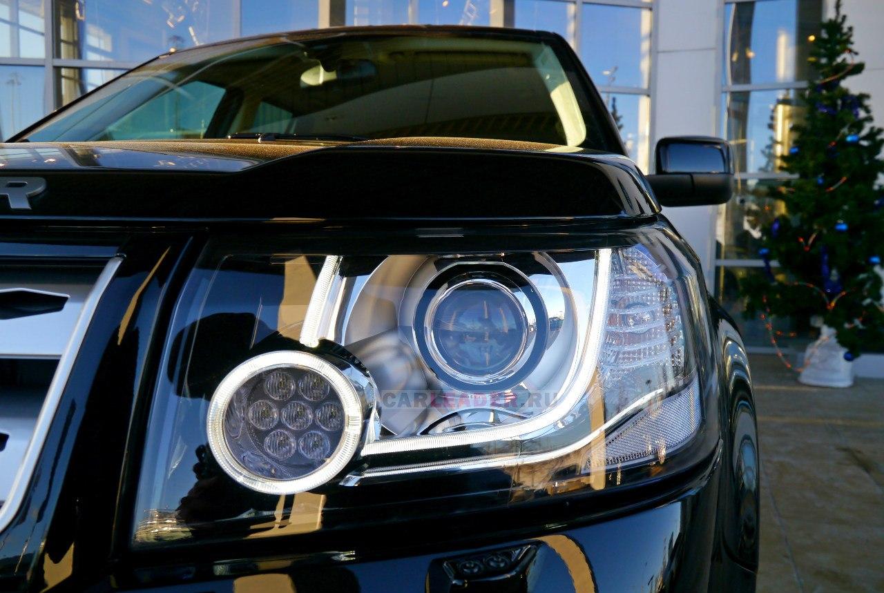 Передняя фара Land Rover Freelander 2013