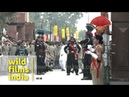 High end competition between Pakistan India at Wagah Border