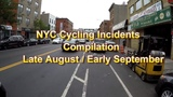 NYC Cycling Incidents Compilation 7 - Road rage, Jaywalking, Unattended Kids, Horse Pee, Close Calls