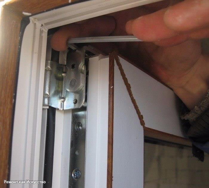 Пластиковые окна ремонт регулировка своими руками 26