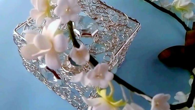 Венок Весенние цветы