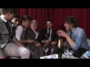One Direction interview after the brits Niall and Harry drunk ! (and the rest of the boys)