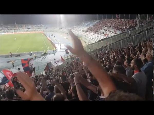 Siena - Cosenza il tifo spettacolare dei 10,000 cosentini a Pescara