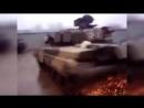 Дрифт на танке Т-90