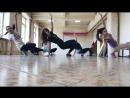 Шоу-балет RedFlame backstage Донецк