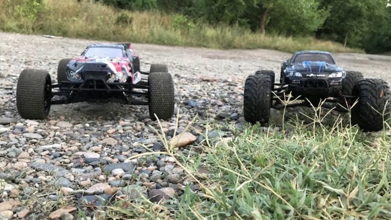 Покатушки Himoto Katana и GP Toys S911