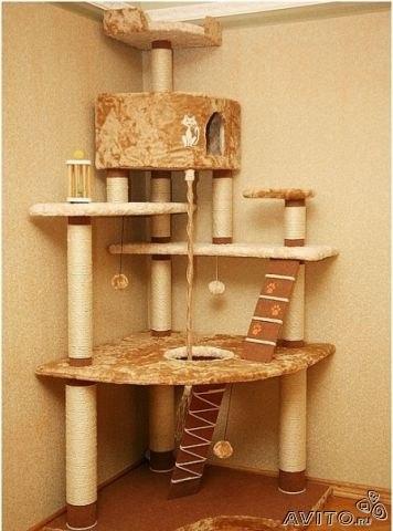 Домики для кошек выкройки