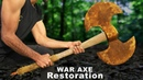 Antique WAR AXE - Impossible Restoration