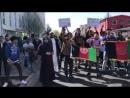 Die Demonstranten zogen am Osthessen Zeitung