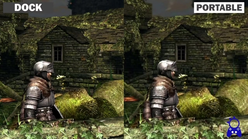 Dark Souls Remastered Switch _ Dock vs Portable _ Graphics Comparison (1)