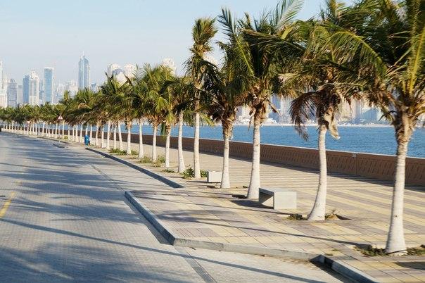 Набережная Palm Jumeira