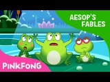 The Frogs Who Desired a King Aesop's Fables Pinkfong Story Time for Children