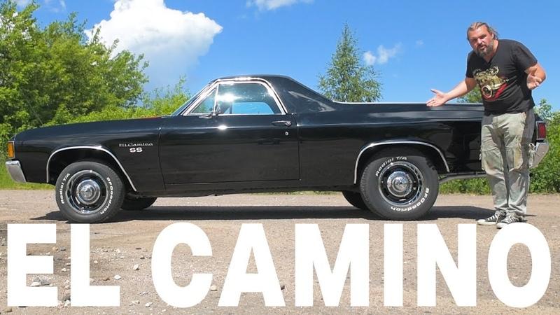 Грузовик или масл-кар? Chevrolet El Camino ЧУДОТЕХНИКИ №43