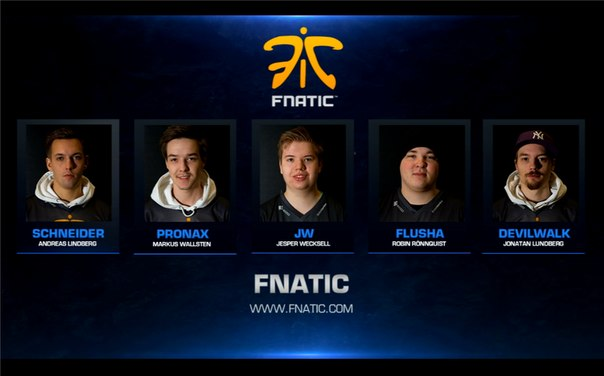 Состав fnatic cs go