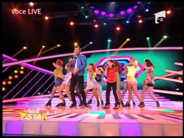 """Enrique Iglesias - """"Bailando"""". Interpretarea Alexiei Necula la Next Star!"""