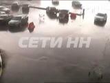 Ураган оживил продуктовые тележки в торговом центре