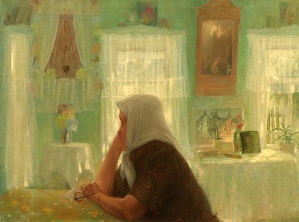 Бабушкин проказник Валентина Прокопьевна родилась в 1920 году. Прошла тяжёлую войну не без своих драм и потерь, жизнь её была тяжёлой, но не смотря на это, светлые глаза этой женщины излучают