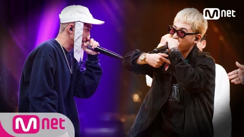 ENG sub Show Me The Money777 6회 ′둘 중 하나는 죽는다… ′ 루피 vs 수퍼비 @팀 배틀 181012 EP 6