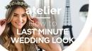 HOW TO Last Minute Wedding Look mit Stefanie Giesinger