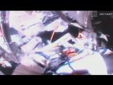 Работа российских космонавтов в открытом космосе