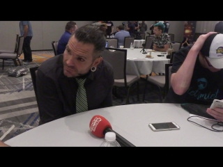 Jeff Hardy Interview New facepaint, injury, Swanton Bomb, Singles run, Randy Orton