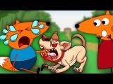 FOX FAMILY Baby Fights over Bone amp amp Bitten by Puppy Full Movie 33 Finger Family Song Nursery Rh